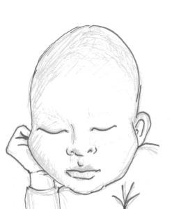 bald powder baby